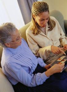 Caregiver Being Good Companion