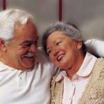 Devoted Older Couple